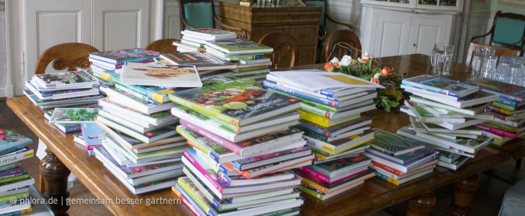 Einsendungen zum Deutschen Gartenbuchpreis 2014