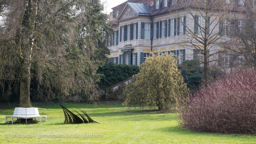 Schloss Dennenlohe, innerer Garten