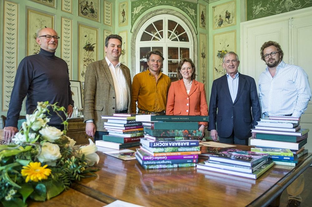 Die Jury des Deutschen Gartenbuchpreises