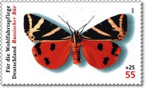DPAG-2005-Schmetterling-RussischerBaer